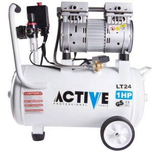 کمپرسور هوا 24 لیتری بی صدا اکتیو مدل AC1324S
